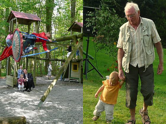 Kinder - Eltern - Großeltern