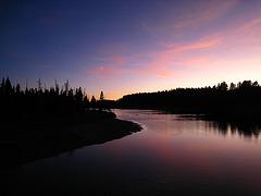 Yellowstone River at Dusk (4233)