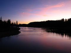 Yellowstone River at Dusk (4234)