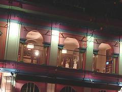 Éclairage cinématographique de soir / Cinema lighting.   Copenhague /  Copenhagen.  25-10-2008
