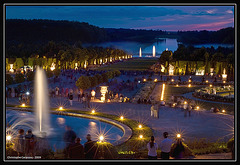 Jardin aux étoiles / starry night in Versailles
