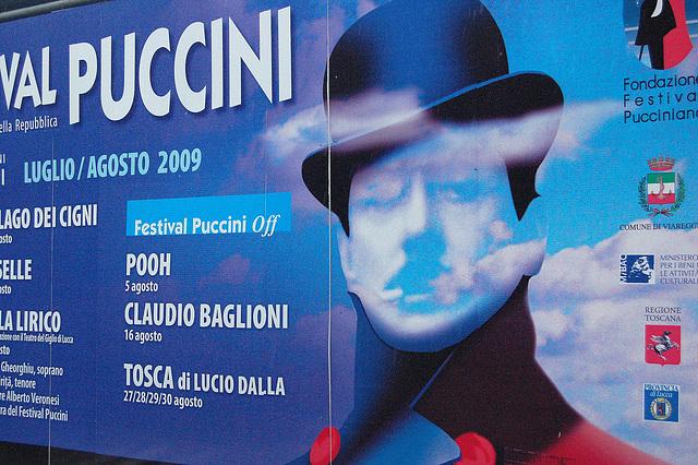 afiŝo kun Puccini