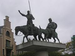 Bruxelles: Don Quichotte et Sancho Pança