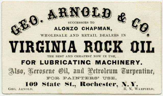 Virginia Rock Oil