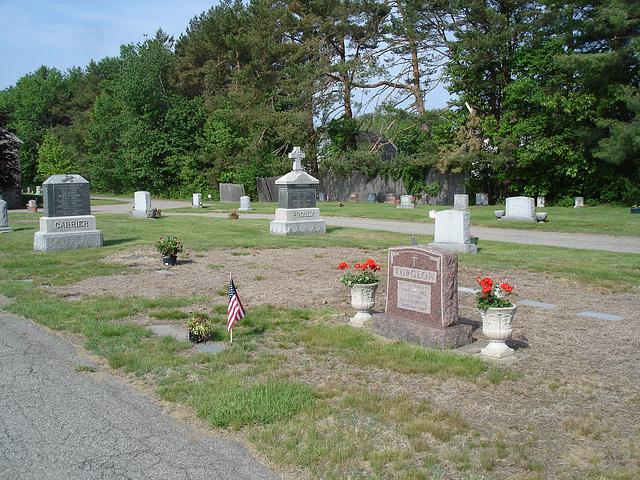 Cimetière St-Charles / St-Charles cemetery - Carrier - Proulx et Turgeon