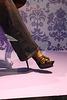 Vitrine podoérotique / Podoerotic shoes window store - Jeans and leopard stilettos sandals