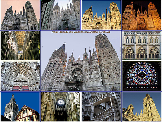 Rouen Cathedral Notre Dame