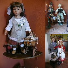Restaurant 'Puppenstube - chambre de poupée - de la pupoj'
