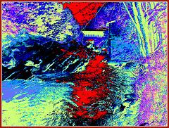 Le moulin Chittenden Jericho. Vermont . USA    23-05-2009 de mon cher Ami Léo- V ersion Krisontème Avec autorisation permanente