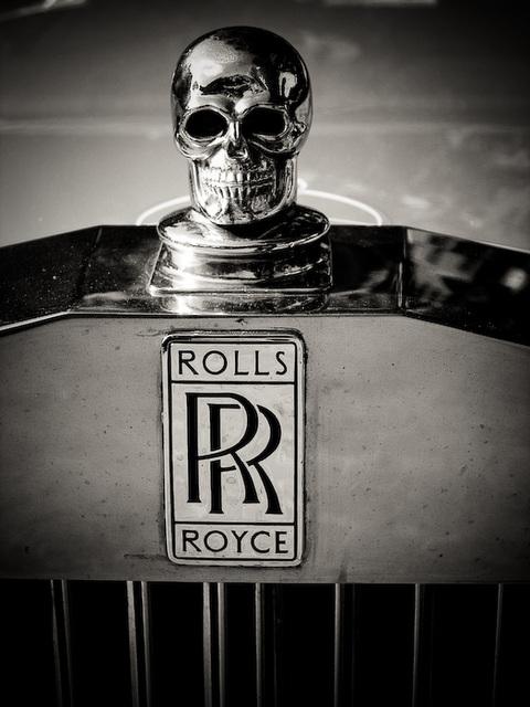 Rolls Royce Skull
