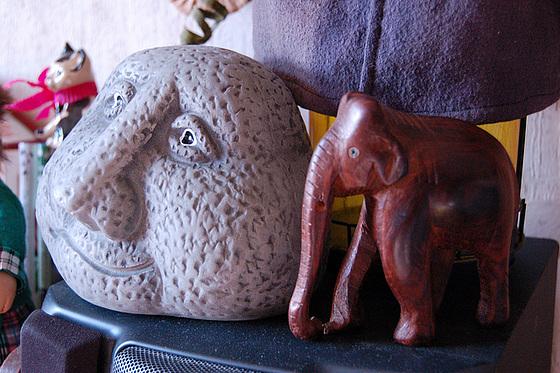 Revulo kaj elefanto  - Tagträumer und Elefant