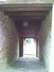 Pasadizo del santuario de Muskilda (Navarra)