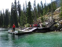 Jenny Lake Dock For Hidden Falls Trail (0573)