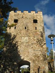 Pordego de kastelo en Sigulda