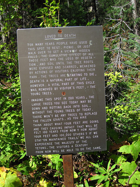 A Conservation Sign (0609)
