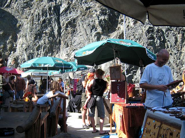 Markt im Castillo del Mar