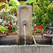 fontaine au joueur de flûte