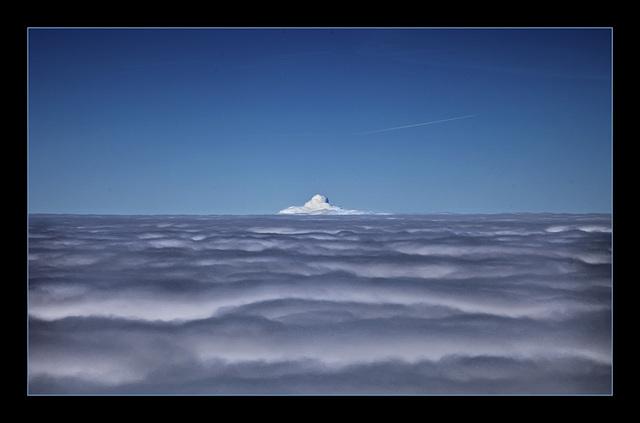 the strange peak in the sky