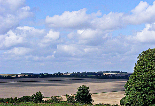 Clouds over Wiltshire