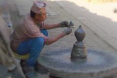 Potier de Bakhtapur (NEP)