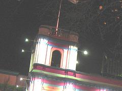 Éclairage cinématographique de soir / Cinema lighting.   Copenhague /  Copenhagen.  25-10-2008- Couleurs ravivées