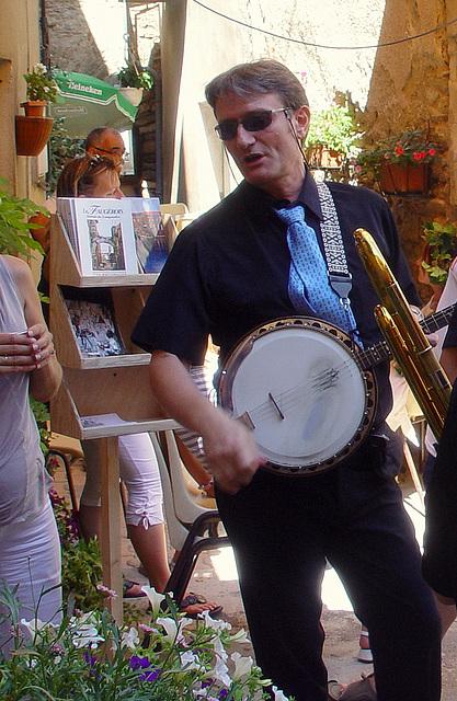l'homme au banjo