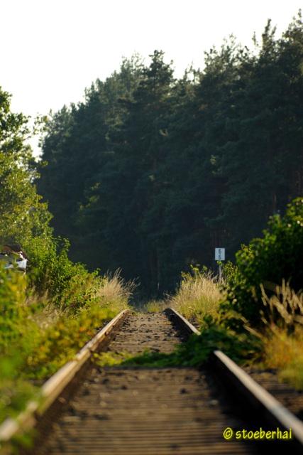 Railroad line Schweinfurt - Kitzingen