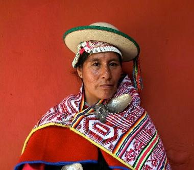 Ethnie Kallawaya, Bolivie