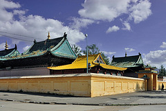 Golden Chituokhan Buddhist Temple at Gandan Monastery