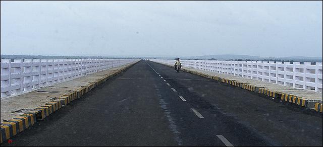 Crossing the Krishna