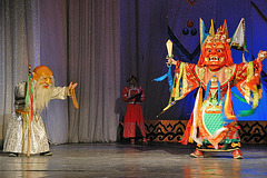 Performance from Tibetan mythology