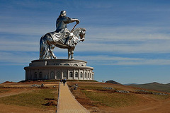 Equestrian statue of Genghis Khan