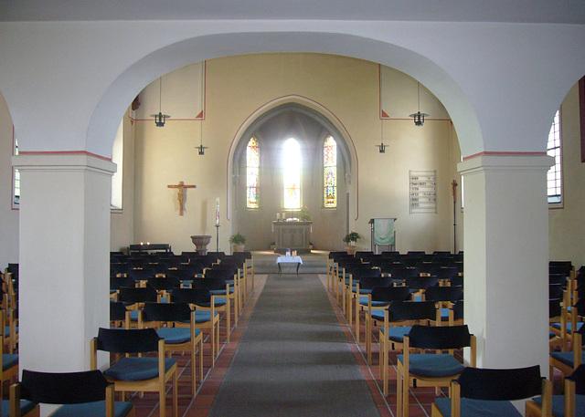 Segenskirche - Innenraum