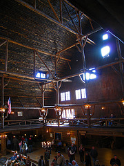 Old Faithful Inn Lobby (3940)