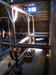 Old Faithful Inn Lobby (3960)