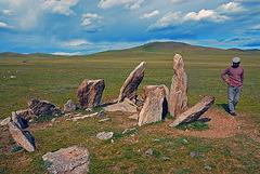 Deer Stone site near Mörön