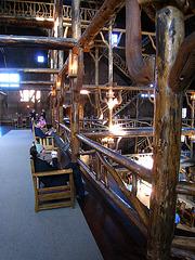 Old Faithful Inn Lobby (3966)