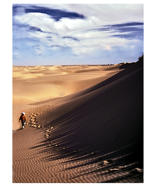 jeu d'ombres dans le grand sud algérien