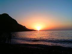 Algérie - coucher de soleil à ténes