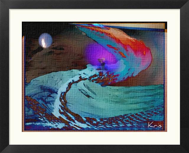 Les vagues de la mer Sont des serpents
