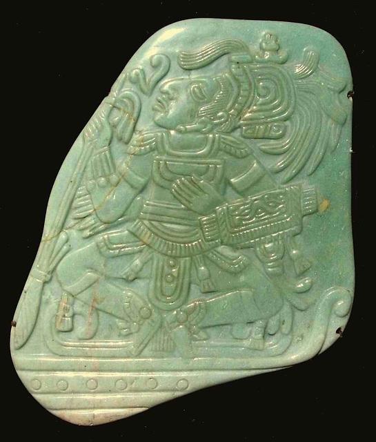 Maya Jade Pectoral, Mexique