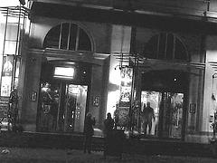 Éclairage cinématographique de soir / Cinema lighting.   Copenhague /  Copenhagen.  25-10-2008- Tramage