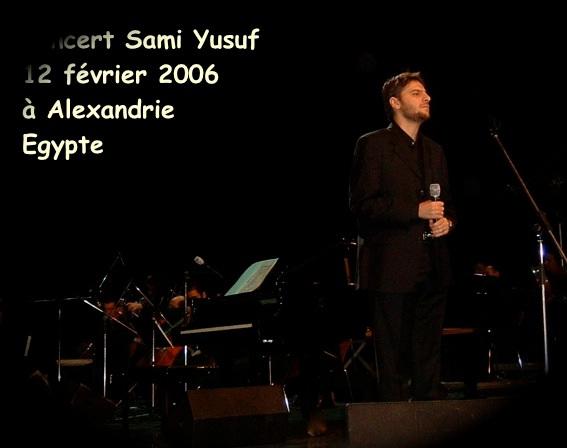 Sami Yusuf en concert à Alexandrie