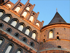 Holstentor, Hansestadt Lübeck / DSCF2380