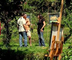 Arnes Ausstellung - am 2.8.2009