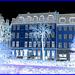 La zone Ortopaed Skomager- Copenhague - Effet  négatif bleu- Blue negative effect- 20 octobre 2008