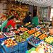 frukt-kaj legomstando / Obst-und Gemüsestand
