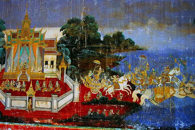 Ramayana Frescoes