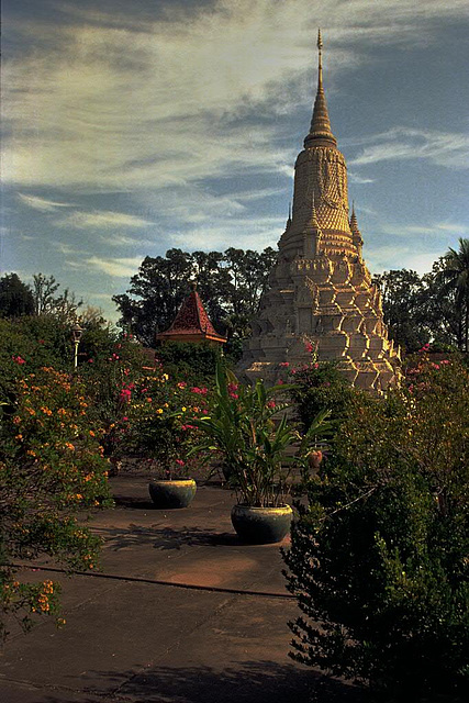 Stupa of HM King Norodom