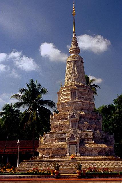 Stupa of HM King Ang Doung
